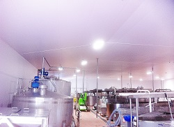 hygienic and temperature controlled production