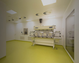 Designing clean rooms and labs