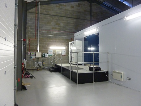 fire rated insulated data rooms