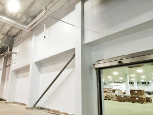 temperature controlled food production facility