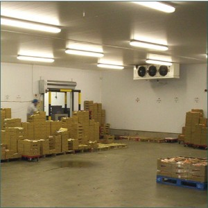 modern food production facility using insulated composite panels