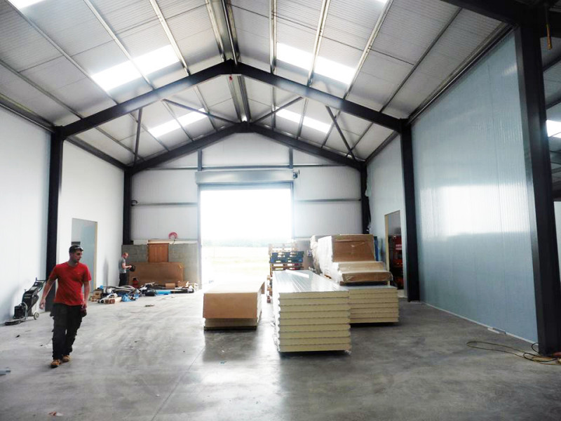 coldroom for bakery building, walk-in chiller