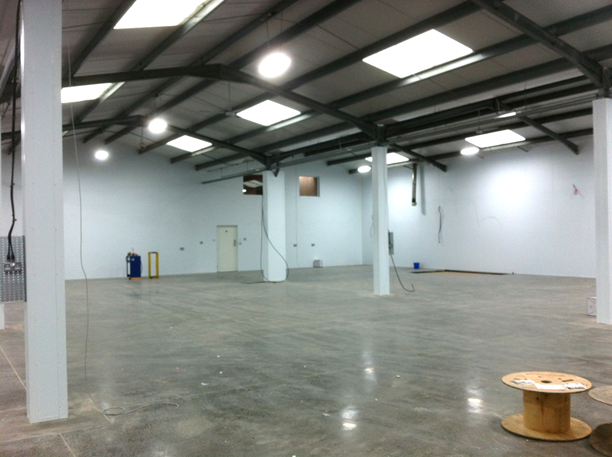 Stancold warehouse partitioning