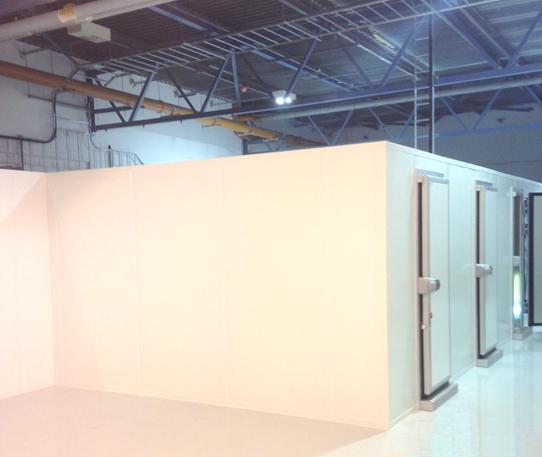Bio storage chambers installation