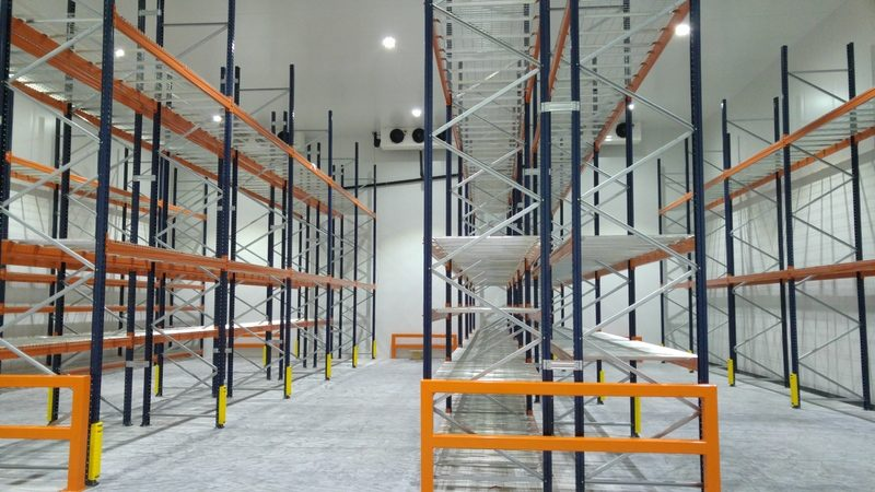 Distribution warehouse installation