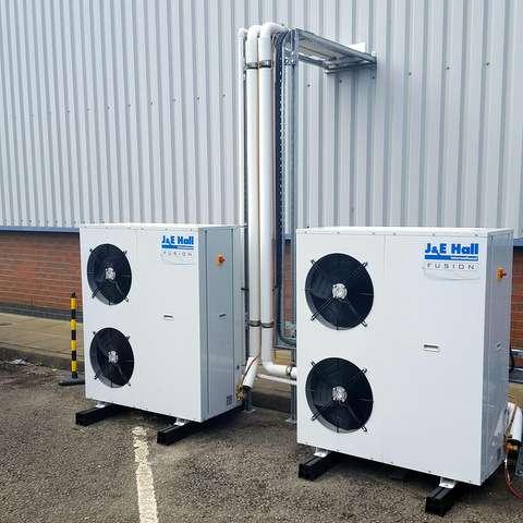Refrigeration for carbon fibre storage