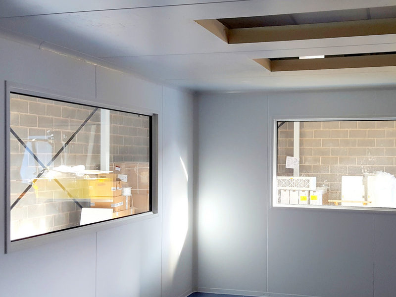 Inside an e-liquid manufacturing cleanroom