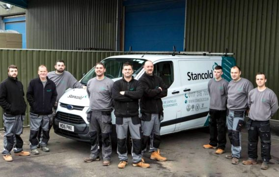 Stancold installation team