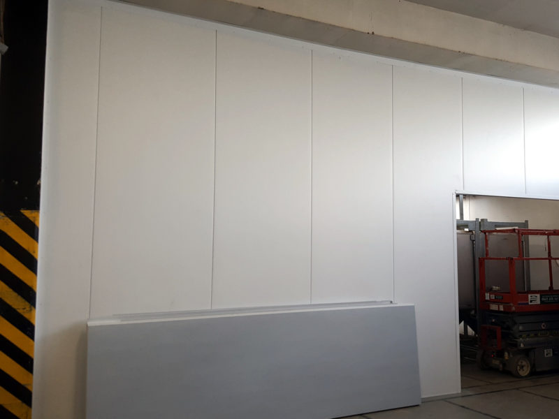 Firesafe panels for workshop partition walls