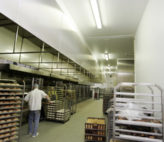 Bakery in operation after Stancold hygienic panel refurbishment