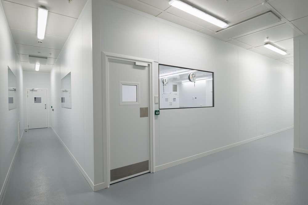 cleanroom installation