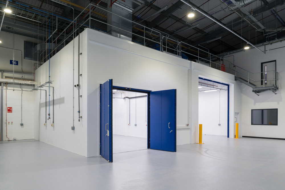 Aeronautical cleanroom facility installed by Stancold