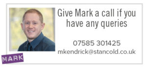 Contact Mark Kendrick for cleanroom and laboratory enquiries