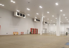 Temperature controlled storage for food distribution hub