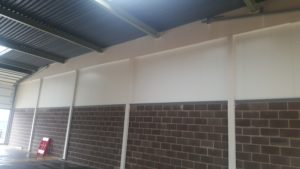 Firewalls for army barracks