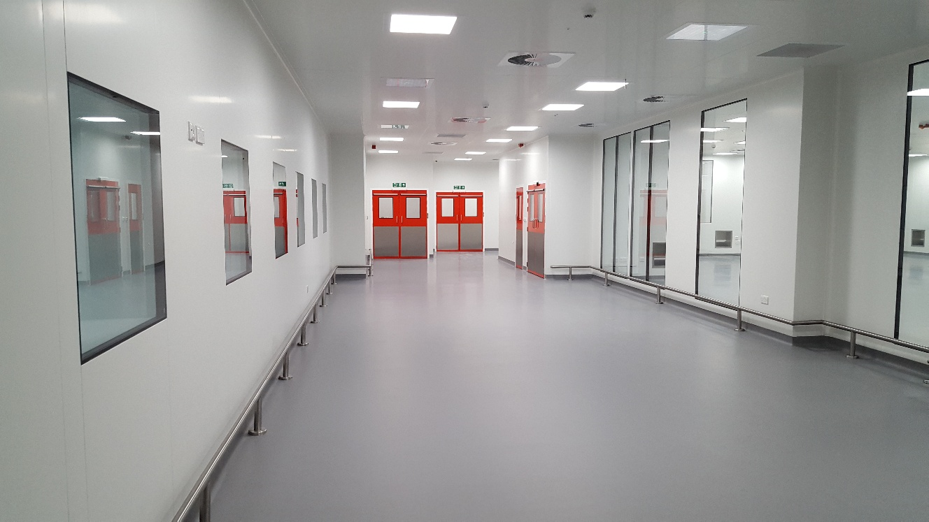 Panels installed for vaccine production