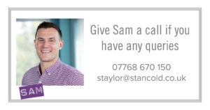 Contact Sam Taylor with your enquiry
