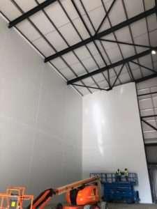 Hygienic Horizontal Panel Installation