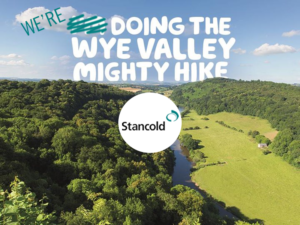 Team Stancold are taking part in the Wye Valley Mighty Hike