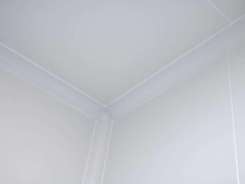 Flush Cleanroom Coving