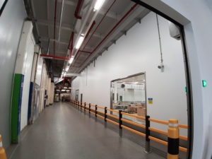 Food-safe factory fit-out, Slough