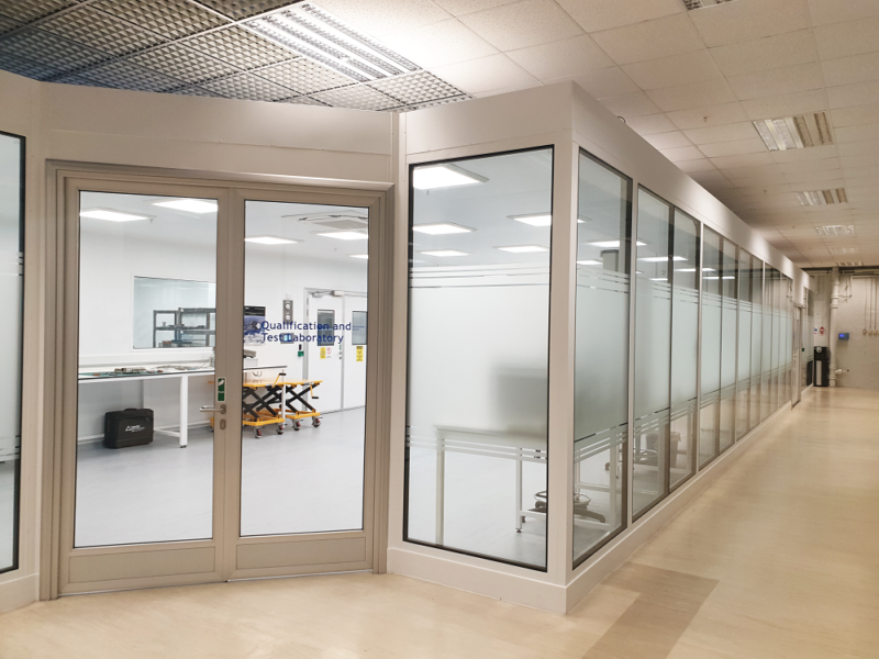 Cleanroom for electrical component manufacture